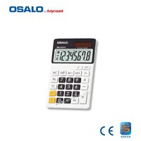 OS-280VC mini slim card solar power pocket calculator