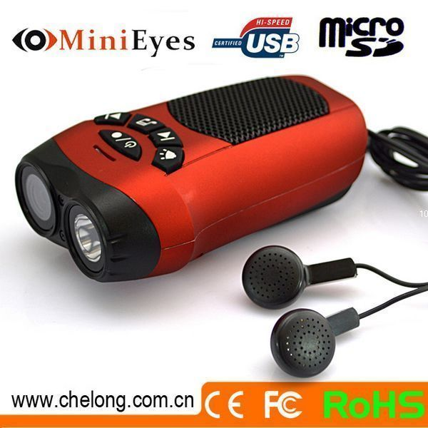 China supplier Travel companion with flashlight MP3 function digital video camcorder for sports