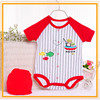 Competitive price cotton print baba & baby garments