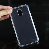 Newest design Transpatent Clear Shockproof TPU Silicon cover case for Motorola Moto E3