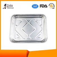 Cost price hotsale gas mat aluminum foil container