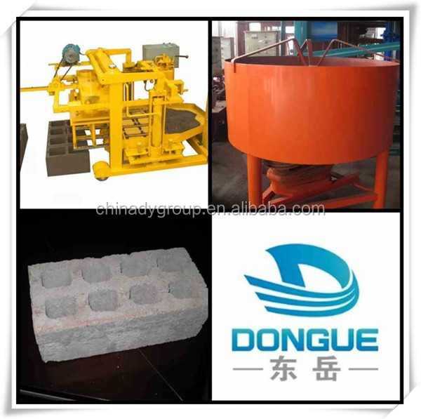 small business ideas/small brick manufacturing business qt40-3a concrete hollow block making machine