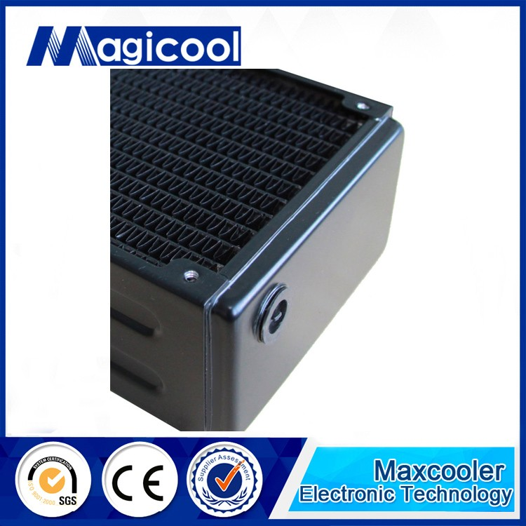 Top performance copper water cooling radiator with 65mm thickness and 360mm length /CG G2X model /Liquid cooling radiator
