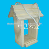 outdoor solid top plywood wooden bird cage