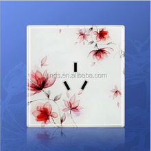 ART-A5 Art fashion ,wall touch <strong>switch</strong>(lotus),crystal panel