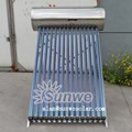 Pressure Heat Pipe Solar Water Heater Stainless Steel 150L For Portugal Customer