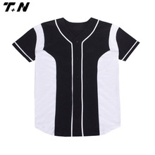Blank baseball jerseys wholesale baseball tee shirt wholesale