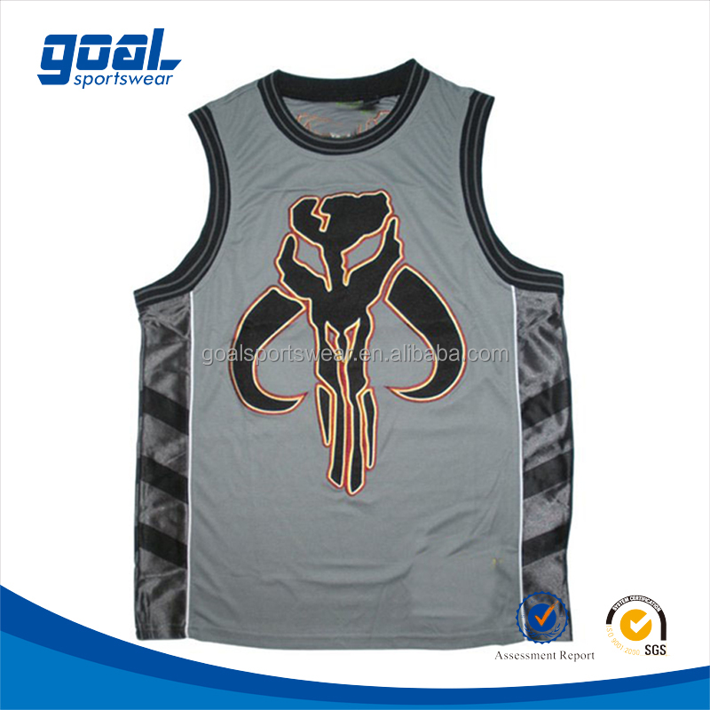 New Fashion Model Classic Custom Basketball Jersey Design