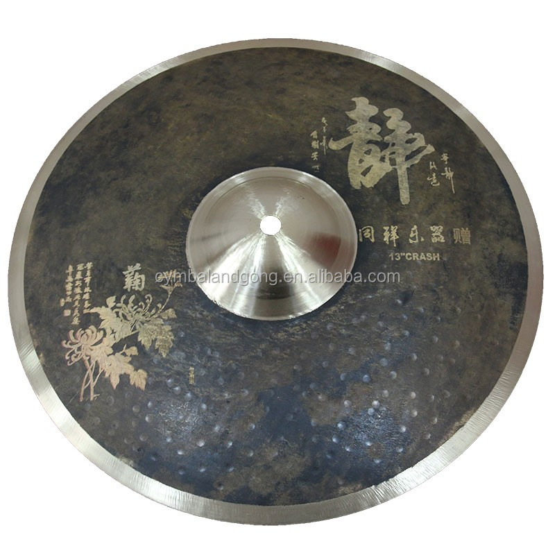 Handmade signated Customized Cymbal 20ride for tongxiang  sale