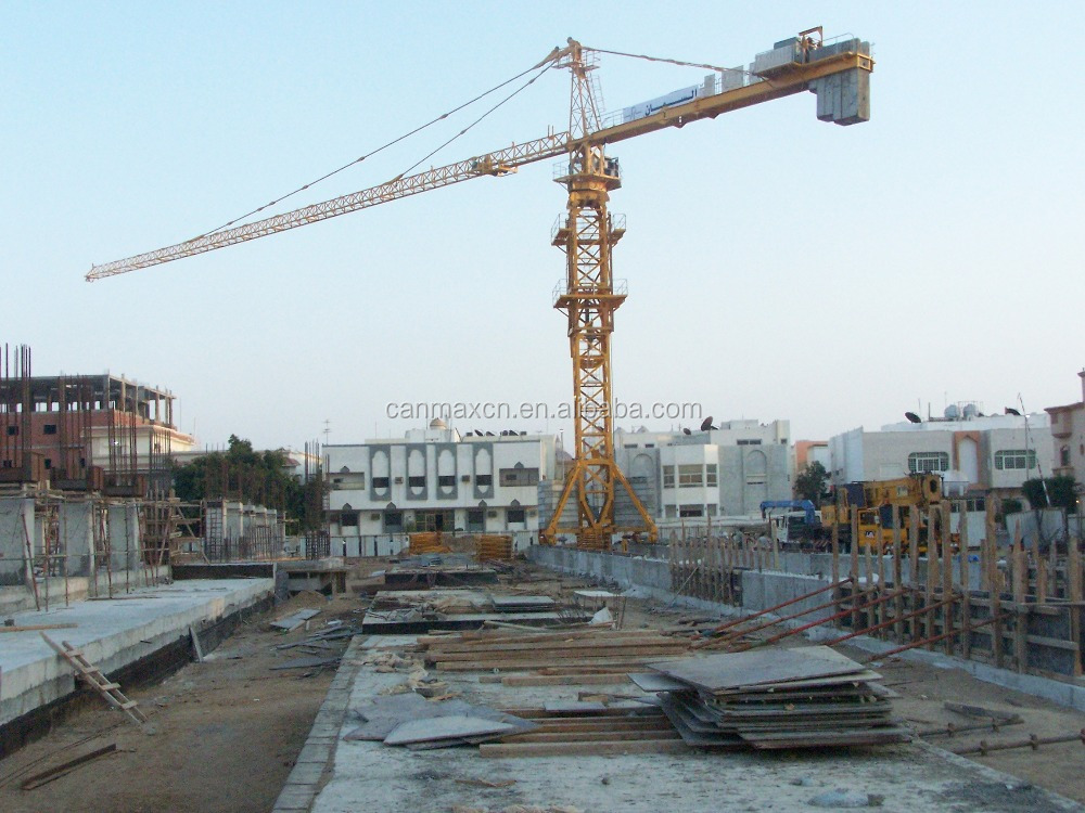 CANMAX TRAVELLING TOWER CRANE TC5615 ON SALE
