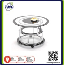 Living room furniture design modern glass coffee table / center table / tea table