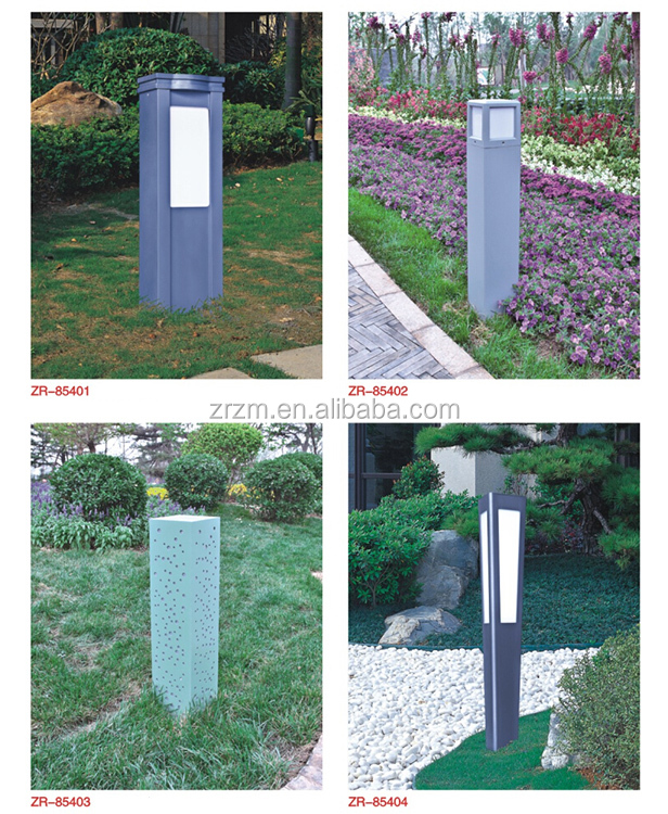 New style Aluminum outdoor lawn light lighting garden square decorating lamp led lawn lamp