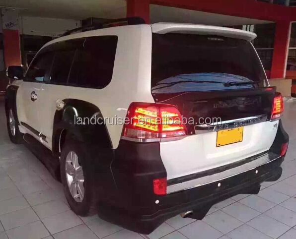 2014 Toyota land crusier INVADE style body kit for FJ200/LC200 land cruiser.