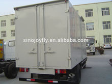 Van body (Van box)load 2tons Tipper truck body with low price