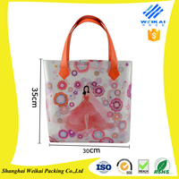 plastic bag printing, PVC tote bag, high quality clutch bag