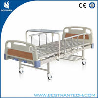 China BT-AM203 Cheap hospital manual crank patient bed, electric hospital bed wooden bed for elderly disabled people price