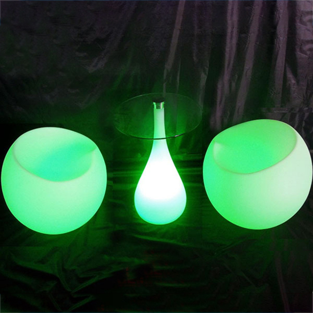 New design Led coffee table illuminated led bar/party/night club /coffee house romantic furniture