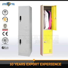 Luoyang factory supply 2 tier clothes steel hostel locker cabinet