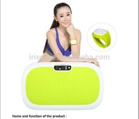 Full Body Shaker Vibration Crazy Fit Machine With Bluetooth Music Player
