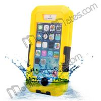IPX8 20m Universal Underwater Diving Waterproof Case Cover for iPhone 4 4S iPhon 5 5S 5C With Belt Clip & Strap Arm Band Holder