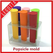 Healthy low cost super funny innovational silicone Popsicle mold for sale