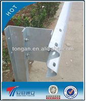 motorway guard rail machine highway guardrail barrier