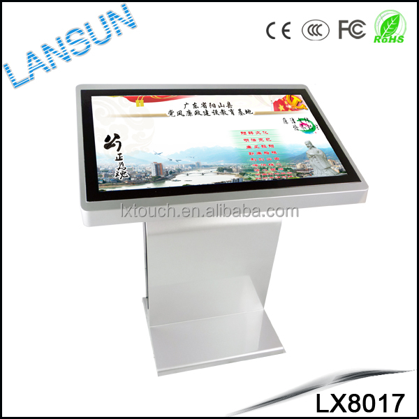 Multipoints lcd touch screen table