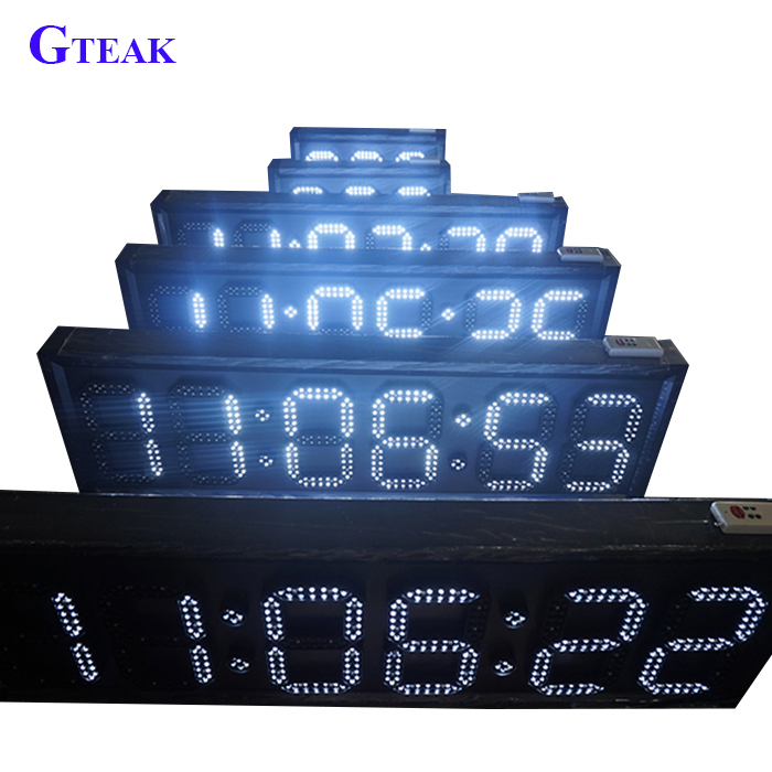 small 6 Digit 5 Inch 7 Segment Led Display for the led number clock