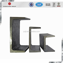 u beam steel channel / u shaped beam galvanized hot cold rolled carbon U iron beam weight size prices