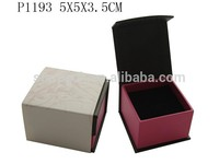 Dazzle Camo Vision Design Decorative Cardboard Ring Box Foam Inserts For Jewelry Box With Paper Sleeve Printed P1193