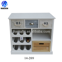 wood kitchen wine cabinet