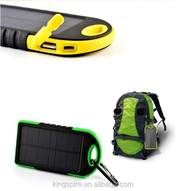 Universal Portable Charging Solar Cell Power Bank 50000mah Solar Powered Power Bank