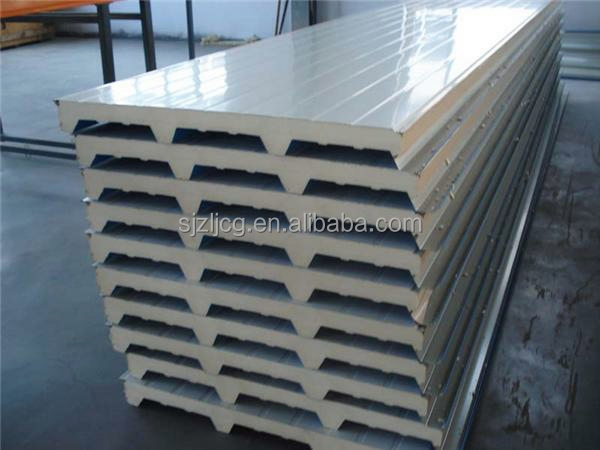 light steel PU Sandwich panel manufacturer of China High quality