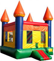 Interesting Jumping Castle Happy New Year Inflatable For Sale