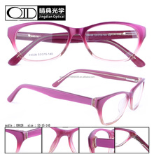 Lady spectacles glasses Transparency eyewear Acetate optical frame K9028