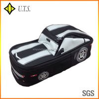 car shape 600D wholesale pencil bag cheap pencil case pouch