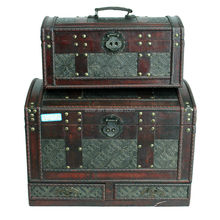 antique wooden trunk wholesale from Chinese direct manufaturer