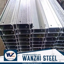 Best quality galvanized steel c channel in China