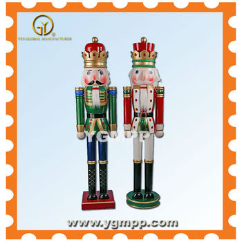 Sell YGM-NTK1305 Wooden Nutcracker With Customized Logo Printing