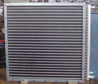 OEM aluminum fin air cooled& air to water heat exchanger for hot water boilers