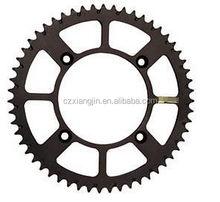 motorcycle special customized CNC machining Aluminum Rear Sprocket 51T