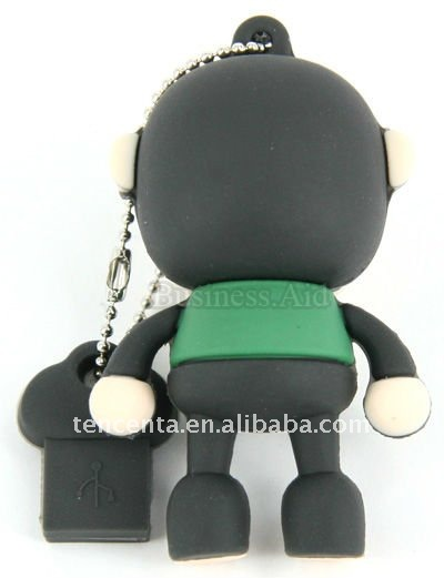 8gb Mini USB 2.0 Flash stick - Black