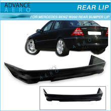 FOR 94-00 MERCEDES BENZ W202 C-CLASS POLY URETHANE PU REAR BUMPER LIP SPOILER BODY KITS