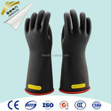Class 4 rubber latex linemen insulating gloves