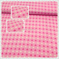 high class China textiles 100% cotton Flannel fabric for baby cloth pink color