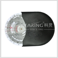 CYA Brand plastic round flight calculation wheel chart for pilot training one pcs per leather bag packing #E6B-Circ