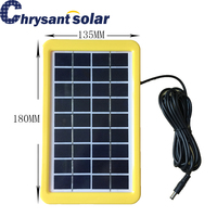 3W 9V Poly Silicon Small Solar Panel with Plastic Frame