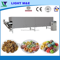 Chain Conveyor Belt Roaster Big Corn Flakes Electrical Oven