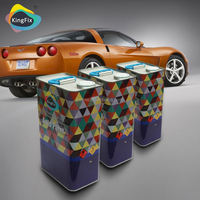 KINGFIX Brand 1K solid colors crack filling paint for car designs