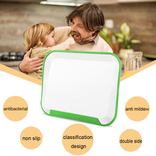 anti slip double usage antibacterial beautiful cutting chopping board with FDA certification